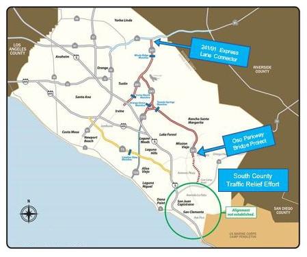 California Toll Road Map